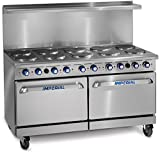 """Imperial Commercial Restaurant Range 60"""" With 10"""