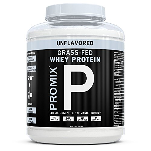 ProMix Nutrition Container of Unflavored Grass-Fed Whey Protein, 1 (1 Whey Protein)