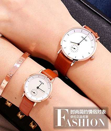 Generic Genuine_new_trend_ fashion girls_ watch es_Ladies_ women girls fashion _jacket_with_ students quartz watch _waterproof_couple_wrist_ watch es
