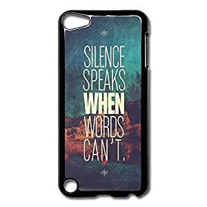 IPod Touch 5 Cases Slice Speaks Design Hard Back Cover Proctector Desgined By RRG2G
