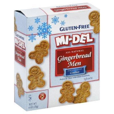 (MIDEL Gingerbread Men Cookies, 6 OZ )