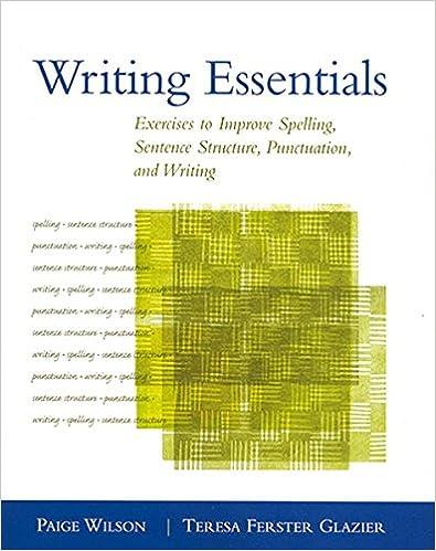 Amazon.com: Writing Essentials: Exercises to Improve Spelling ...