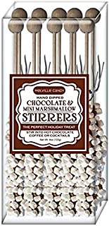 product image for Melville Candy Holiday Limited Hot Chocolate Stirrers Gift Set (White peppermint 5 Choco 5)