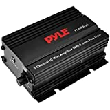 Dual Channel Mini Portable Stereo- Receiver Box - 300 Watt Rack Mount Audio Speaker Power Amplifier System w/3.5mm Input - Enjoy Amplified Sound for Your Home Entertainment System - Pyle PLMPA35