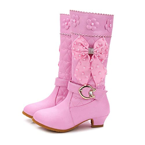 ever popular clear and distinctive luxury fashion FUN.S Girls Boots 2018 Winter Shoes Princess high Boots ...