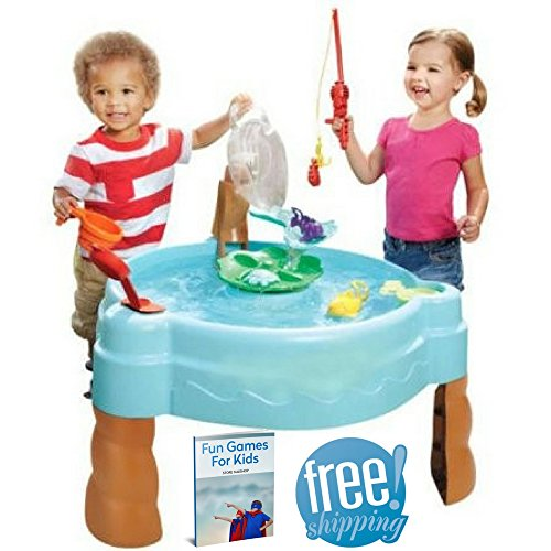 Water Activity Table For Toddlers Outdoor Naturally Playful Play Seas Splash Water Fishing Set For Kids Home And Garden Play Beach Toy Games Outward Playfort Child Backyard And eBook By NAKSHOP by NAKSHOP