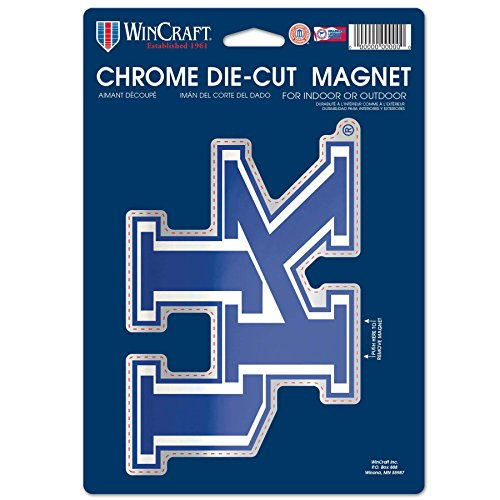 sity of Kentucky Chrome Magnet, 6.25 x 9, Black ()