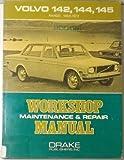 Volvo 142, 144, 145; 1968 to 1972; Workshop Maintenance & Repair Manual