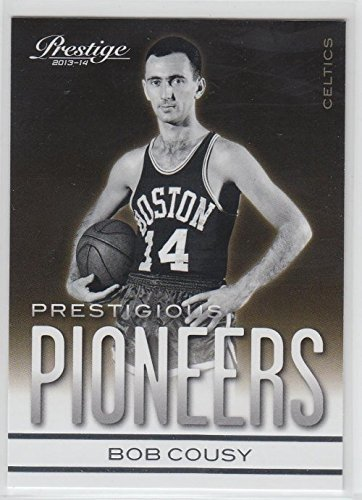 - 2013-14 Prestige Prestigious Pioneers #5 Bob Cousy Basketball Card