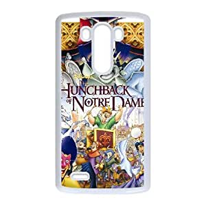 LG G3 Phone Case White Hunchback of Notre Dame BXF278438