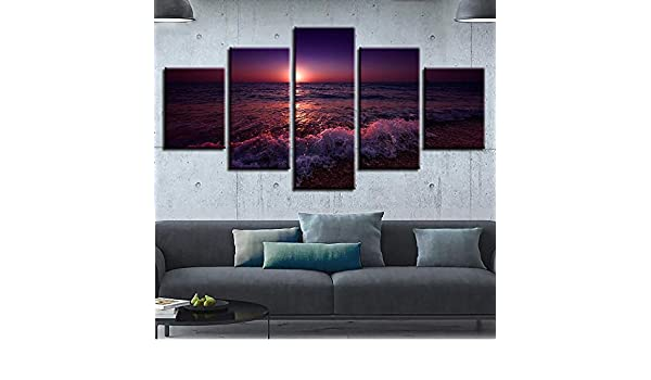 mmwin Poster Wall Art Living Room Canvas Pictures Impreso 5 ...