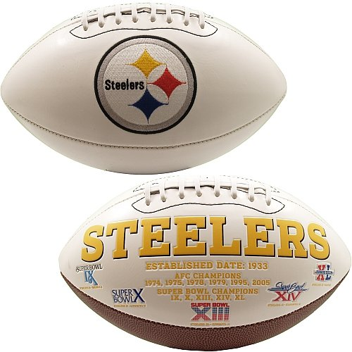 Pittsburgh Steelers Signature Series Football -  K2, 654STEELERS