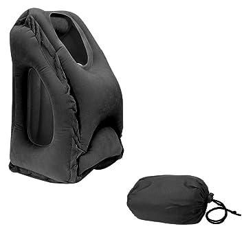 Almohada hinchable, diseño ergonómico, portátil, reposa ...