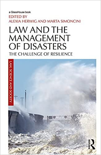Risultati immagini per Law and the Management of Disasters: The Challenge of Resilience