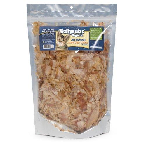Bellyrubs Organic 3-1/2-Ounce All Natural Cat Treats, Bonita Tuna Flakes