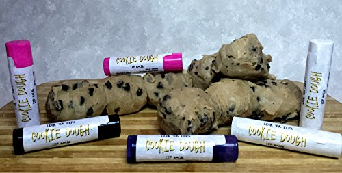 Cookie Dough Lip Balm by Lick 'er Lips Moisturizing Lip Care - .15 oz ()