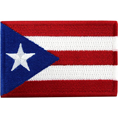Puerto Rico Mlb - Puerto Rico Embroidered Country National Flag Iron On Emblem Patch Team Jersey