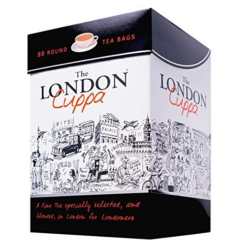 London Cuppa Tea Box - 80 Teabags