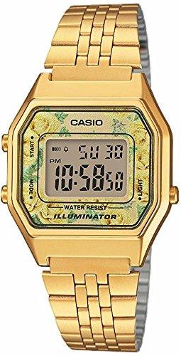 Casio Reloj Digital para Mujer de Cuarzo con Correa en Acero Inoxidable  LA680WEGA-9CEF  Amazon.es  Relojes f4e433d3d43d