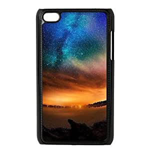 Print Your Own Pictures AXL371128 Best Cover Case For Ipod Touch 4 Cover Case w/ Aurora and Star