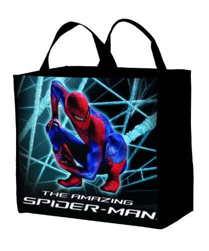 [The Amazing Spiderman Movie Gusset Pellon Treat Bag] (Amazing Spider Man Theatrical Costumes)
