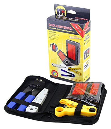 Noyafa NF-1201 Network Tool Kit Wire Stripper and Network...