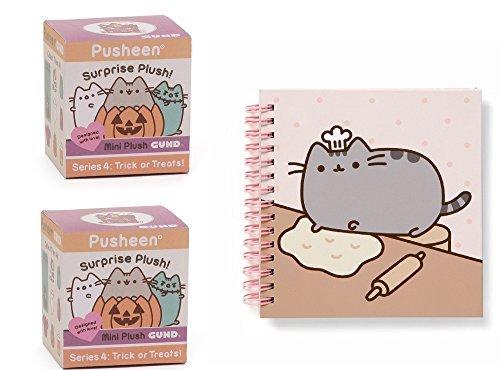 Pusheen 2 Blind Boxes Series #4 Trick Treat Bundle Notebook -