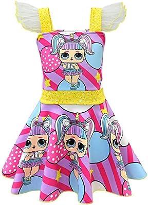 QYS Niñas, Niños, LOL, Muñeca, Sorpresa, Princesa, Disfraz de ...