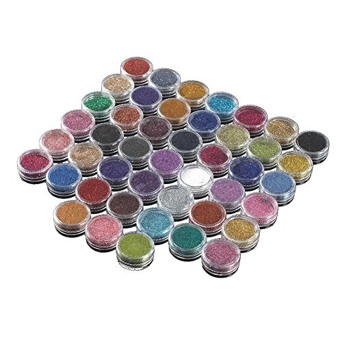 Gracefulvara 45 Color Loose Glitter Powder Face Body Nail Ar