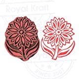 Tree Leaf Wooden Stamp for Block Printing