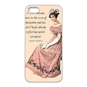 Austen Happy iPhone5s Cell Phone Case White persent xxy002_6858939