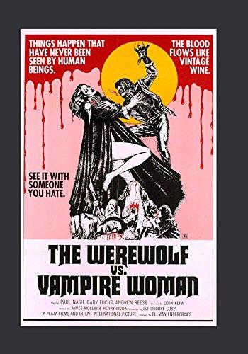 The Werewolf Versus the Vampire Woman -
