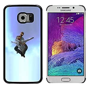 All Phone Most Case / Oferta Especial Duro Teléfono Inteligente PC Cáscara Funda Cubierta de proteccion Caso / Hard Case Samsung Galaxy S6 EDGE // Idiot in sky