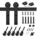 6.6ft Cabinet Barn Door Hardware Kit- Mini Sliding