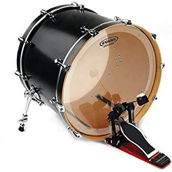 evans eq4 clear bass drum head 24 inch musical instruments. Black Bedroom Furniture Sets. Home Design Ideas