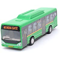 Centy Toys Low Floor CNG Pull Back Bus (Assorted Color)