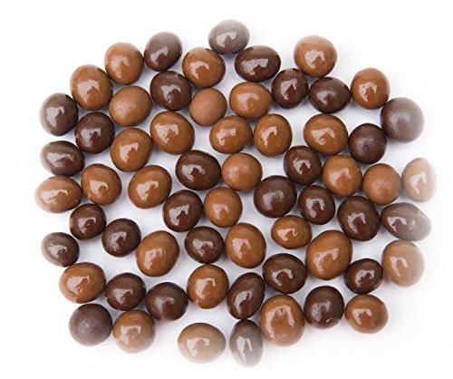 SweetGourmet Chocolate Covered Espresso Coffee Beans | Dark & Milk Mix | 1 pound