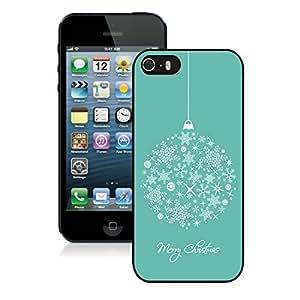Customized Portfolio Iphone 5S Protective Case Merry Christmas iPhone 5 5S TPU Case 13 Black by icecream design