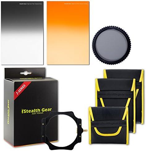 Grey Stealth Gear Wide Range Pro Landscape Filter Kit