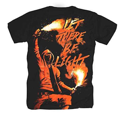 """PG Wear """"let there be light..."""" T-Shirt"""