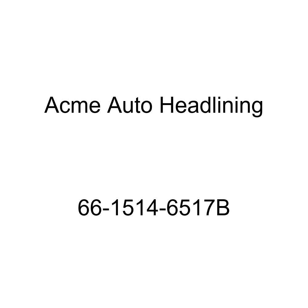 Pontiac Bonneville Catalina /& Star Chief 4 Door Hardtop 5 Bow Acme Auto Headlining 66-1514-6517B Light Blue Replacement Headliner