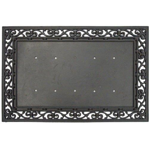Hey Y'All EverOptics Light Up Coir Door Mat And Rubber Frame Bundle