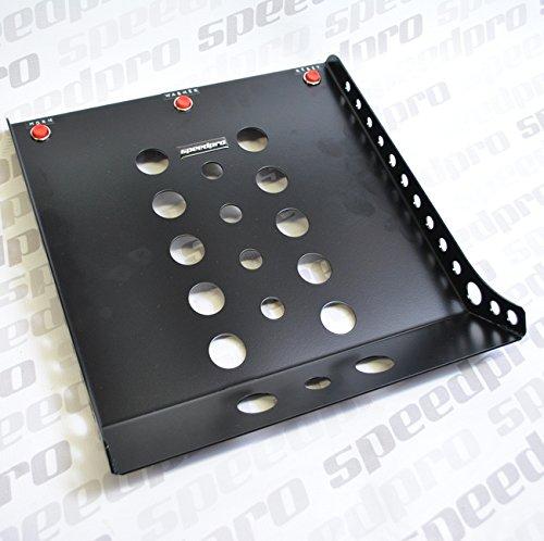 para carreras y rally R5 Speedpro Reposapi/és de acero para copiloto con interruptor de pulsaci/ón