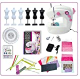 time machine kit - AMAV Fashion Time The Little Seamstress Craft Educational Sewing Kit - DIY Make Your Own Fashion