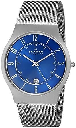 Skagen Men's 233XLTTN Grenen Titanium Watch with Mesh Band