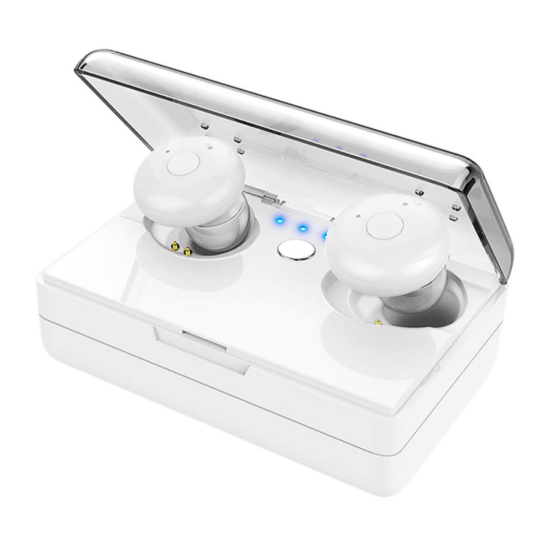 最新のデザイン YYH 003 ワイヤレス Bluetooth B07H26D7LY ヘッドセット カーインテリア 見えないミニステレオ ホワイト バス スポーツ 耳栓 Bluetooth イヤホン ホワイト 003 ホワイト B07H26D7LY, clink:9acaf813 --- nicolasalvioli.com