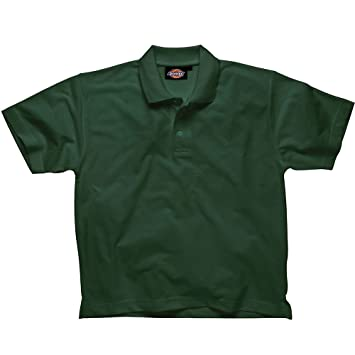 Dickies - Camisa de Polo, Verde Botella, x-Large: Amazon.es ...