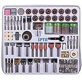 SPTA 216tlg Zubehörset fur Dremel,Proxxon Dremel Kabelgebundenes Multifunktionswerkzeug Schleifen, Schleifen, Polieren--3mm Schaft