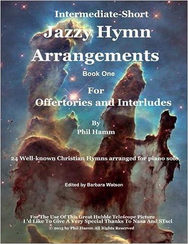 Book Jazzy Hymn Arrangements Book One: Volume 1