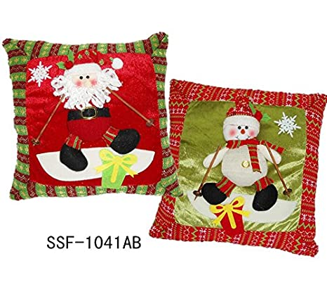 mayuan520 Regalos cojín de Navidad, muñecos de nieve ...